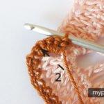 Zigzag Örgü Battaniye Yapılışı 7