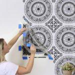 20 Duvar Boyama Şablonları 12