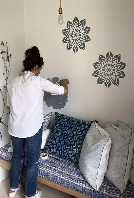 20 Duvar Boyama Şablonları 26