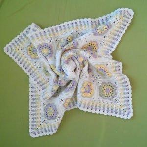 Afrika Çiçeği Battaniye Modelleri 2