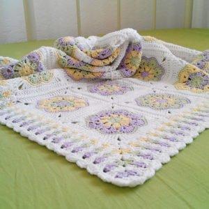Afrika Çiçeği Battaniye Modelleri 3