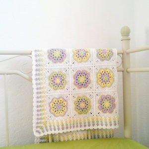 Afrika Çiçeği Battaniye Modelleri 4