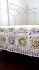 Afrika Çiçeği Battaniye Modelleri 6