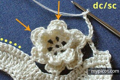 Çiçekli Zikzak Battaniye Yapılışı 13