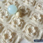 Çiçekli Zikzak Battaniye Yapılışı 29