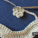 Çiçekli Zikzak Battaniye Yapılışı 3