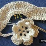 Çiçekli Zikzak Battaniye Yapılışı 9