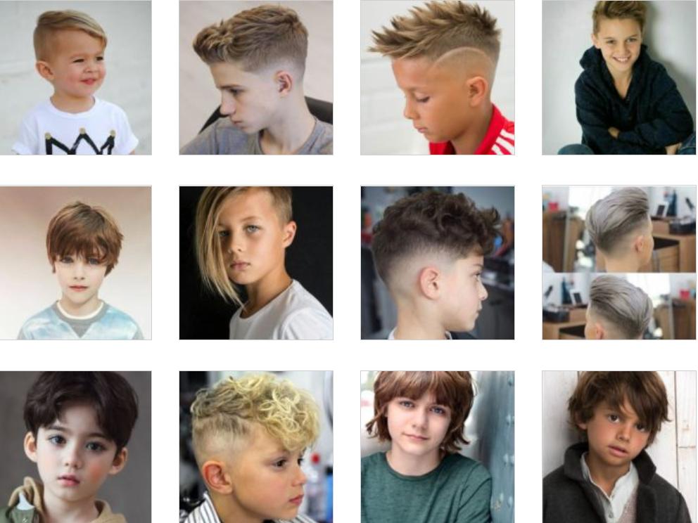Erkek Çocuk Saç Kesim Modelleri 51