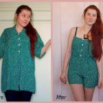 Eski Kıyafetlerden Yeni Kıyafet Yapma 30