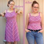 Eski Kıyafetlerden Yeni Kıyafet Yapma 37