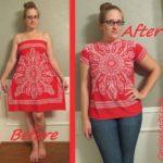 Eski Kıyafetlerden Yeni Kıyafet Yapma 67