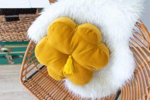 Kadife Çiçek Yastık Yapılışı 2