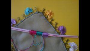 Pipetle Yapılan İğne Oyası
