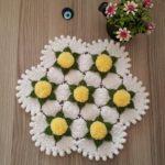 Ponpon Çiçeği Lif Nasıl Örülür?