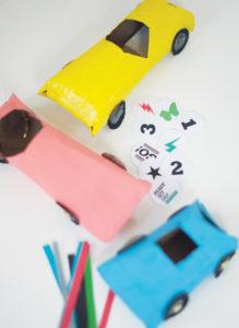 Tuvalet Kağıdı Rulosundan Araba Yapımı 1