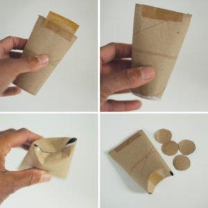 Tuvalet Kağıdı Rulosundan Araba Yapımı 2
