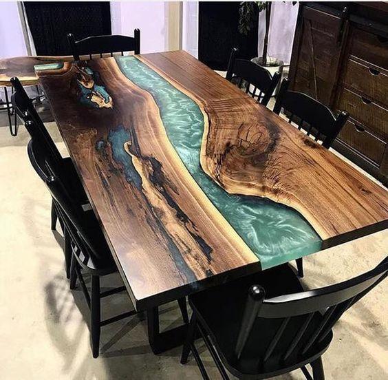 Yeni Yemek Masası Modelleri 14