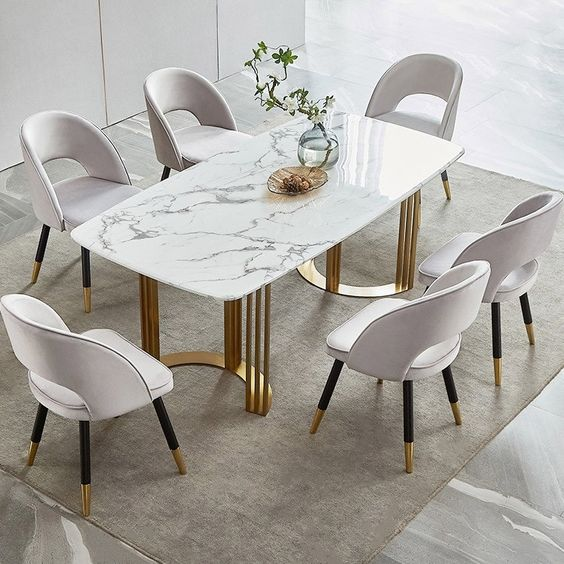 Yeni Yemek Masası Modelleri 35