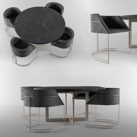 Yeni Yemek Masası Modelleri 4