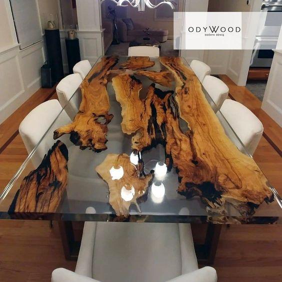 Yeni Yemek Masası Modelleri 45