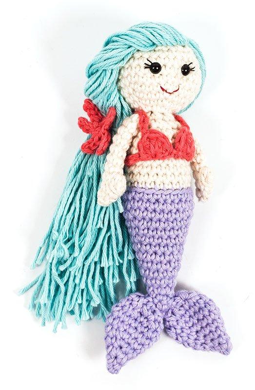 Amigurumi deniz kızı yapımı | 800x523
