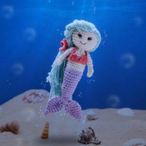 Amigurumi Deniz Kızı Nasıl Yapılır?