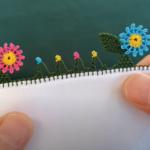 Çiçekli İğne Oyası Modelleri Yapılışı