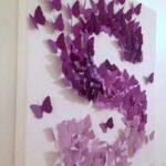 Duvar Süsü Kelebek Yapımı 7
