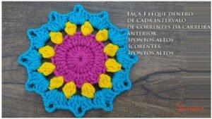 Mandala Motif Yapımı 4