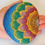 Mandala Taş Boyama Nasıl Yapılır? 9