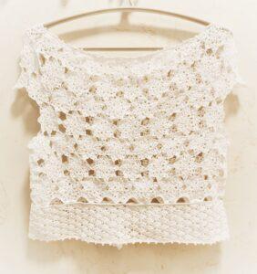Örgü Elbise Bluz Yapımı