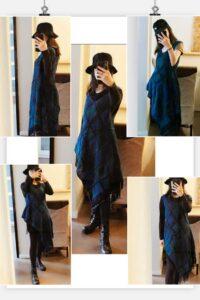 Örgü Elbise Modelleri Anlatımlı 13