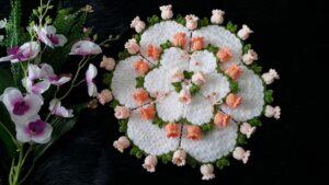 Suzanın Çiçek Bahçesi Yuvarlak Lif Yapılışı 1