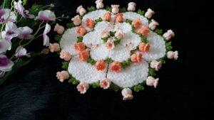 Suzanın Çiçek Bahçesi Yuvarlak Lif Yapılışı 2