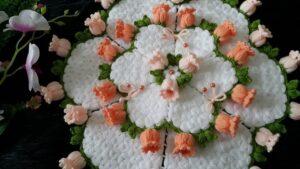 Suzanın Çiçek Bahçesi Yuvarlak Lif Yapılışı