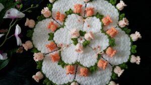 Suzanın Çiçek Bahçesi Yuvarlak Lif Yapılışı 3