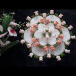 Suzanın Çiçek Bahçesi Yuvarlak Lif Yapılışı 4