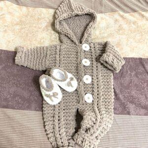 Alize Puffy ile Bebek Tulum Yapılışı 2