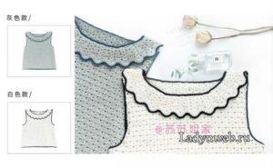 Askılı Örgü Bluz Modeli Yapılışı 2