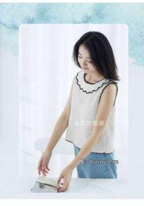 Askılı Örgü Bluz Modeli Yapılışı 6