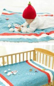 Bebek Battaniyesi El Örgüsü 13