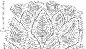Dantel Örgü Elbise Nasıl Yapılır? 12