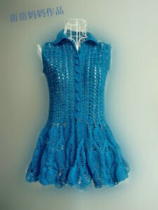 Dantel Örgü Elbise Nasıl Yapılır? 13