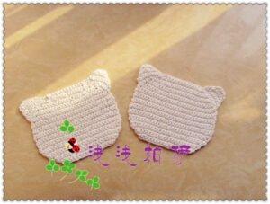 Hello Kitty Örgü Çanta 3