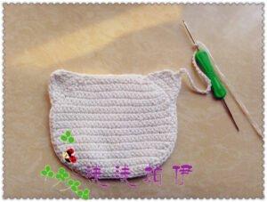 Hello Kitty Örgü Çanta 6