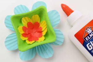 Kartondan Çiçek Yapımı Etkinlikleri 15