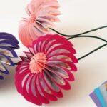 Kartondan Çiçek Yapımı Etkinlikleri 25