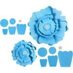 Kartondan Çiçek Yapımı Etkinlikleri 28