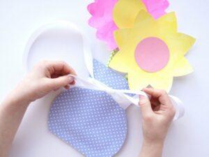 Kartondan Çiçek Yapımı Etkinlikleri 32