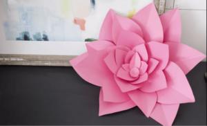 Kartondan Çiçek Yapımı Etkinlikleri 35